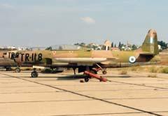 Lockheed T-33A 35118/TR-118