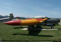 Lockheed T-33A 9455 German Air Force, Musée Européen de l'Aviation de Chasse Montelimar