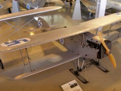 Martinsyde F.4 Buzzard MA-24 Finnish Air Force, Keski-Suomen Ilmailumuseo, Aviation Museum of Central Finland, Tikkakoski