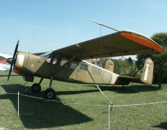 Max Holste MH1521M Broussard 124 French Air Force, Musée Européen de l'Aviation de Chasse Montelimar