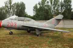 Mikoyan Gurevich MiG-15UTI 203 Hungarian Air Force, Szolnok Aviation Museum
