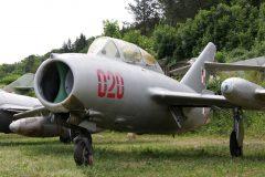 Mikoyan Gurevich MiG-15bis lic PZL Lim-2 Fagot 020 Polish Air ForceMusee Chateau Savigny-lès-Beaune