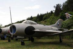 Mikoyan-Gurevich MiG-19PM Farmer 0219 Czech Air Force Musee Chateau Savigny-lès-Beaune