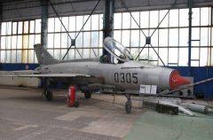 Mikoyan-Gurevich MiG-21F-13 0305 Czech Air Force, Letecké Muzeum Koněšín (Olomouc)