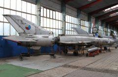 Mikoyan-Gurevich MiG-21F-13 0714 Czech Air Force, Letecké Muzeum Koněšín (Olomouc)