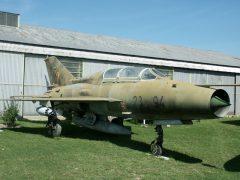 Mikoyan Gurevich MiG-21U-600 23+94 German air Force, Musée Européen de l'Aviation de Chasse Montelimar