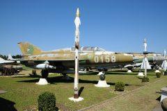 Mikoyan Gurevich MiG-21UM 0158 Hungarian Air Force, Pinter Muvek Military Museum