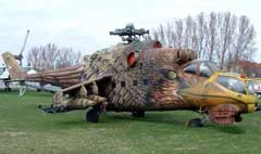 Mil Mi-24D 117 Hungarian Air force