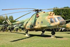Mil Mi-8T 10424 Hungarian Air Force, Pinter Muvek Military Museum