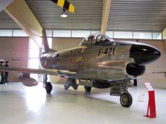 North American F-86D Sabre F-421 Danish Air Force, Danmarks Flymuseum