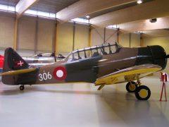 North American Harvard 2B 31-306 Danish Air Force, Danmarks Flymuseum
