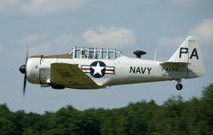 North American SNJ-5 Texan F-AZRB 90747 PA-47, Musée Volant Salis, Aérodrome de Cerny – la Ferté Alais