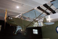 Piper L-4J Grasshopper 624 D-39 US Army, Musée Airborne Sainte-Mère-Église