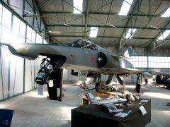 Recce Dassault Mirage 3RS R-2103 Swiss Air Force, Musée Européen de l'Aviation de Chasse Montelimar