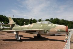Republic F-84F Thunderstreak FU-45 Belgian Air Force Musee Chateau Savigny-lès-Beaune