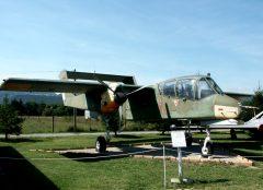 Rockwell OV-10B Bronco 99+27 German Air Force, Musée Européen de l'Aviation de Chasse Montelimar