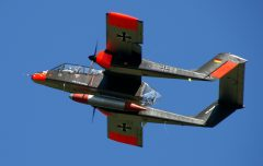 Rockwell OV-10B Bronco F-AZKM/99+24 German Air Force, Musée Européen de l'Aviation de Chasse Montelimar