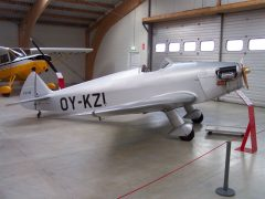 SAI KZ I OY-KZI (replica) Danmarks Flymuseum