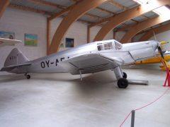 SAI KZ II Kup OY-AEA Danmarks Flymuseum Stauning