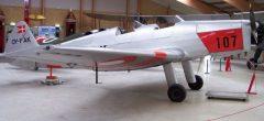SAI KZ II Trainer OY-FAK 107 Danish Air Force, Danmarks Flymuseum Stauning