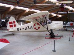 SAI KZ III OY-DZA Danmarks Flymuseum Stauning