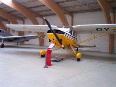 SAI KZ VII OY-AAD Danmarks Flymuseum Stauning