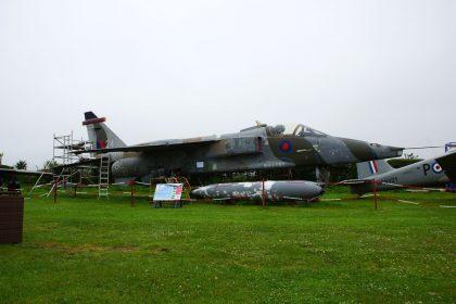 SEPECAT Jaguar GR.1 XX763/24 RAF, Bournemouth Aviation Museum
