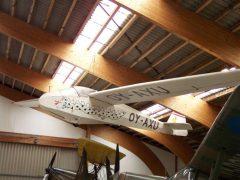 Scheibe Spatz B OY-AXU Danmarks Flymuseum