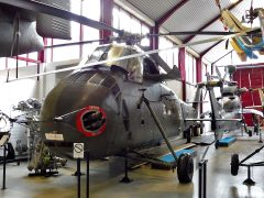 Sikorsky H-34G Choctaw 81+09 German Army, Hubschraubermuseum, Buckeburg