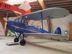 Stampe Vertongen S.V. 4B OY-DBC Danmarks Flymuseum Stauning