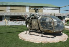 Sud Aviation Alouette 2 152 67-OI French Army, Musée Européen de l'Aviation de Chasse Montelimar