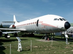 Sud Aviation SE210-3 Caravelle 3 116/CE French Air Force, Musée Européen de l'Aviation de Chasse, Montelimar
