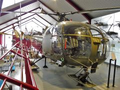 Sud Aviation SE3160 Alouette 3 V-247 Swiss Air Force, Hubschraubermuseum, Buckeburg