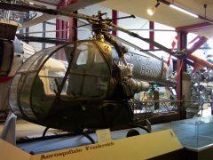 Sud-Ouest SO-1221 Djinn FR8/7 French Army, Hubschrauber Museum