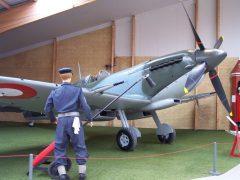 Supermarine Spitfire HF MK. IXe 41-401 Danish Air Force, Danmarks Flymuseum