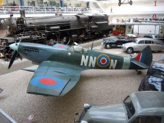 Supermarine Spitfire LF.9E TE565 NN-N RAF Czech squadron, Národní Technické Muzeum