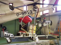 V.F.W. H-2 D-HIBV Hubschrauber Museum