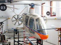 V.F.W. H3 E Sprinter D-9543, Hubschraubermuseum, Buckeburg