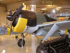 VL Humu HM-671 Finnish Air Force, Keski-Suomen Ilmailumuseo, Aviation Museum of Central Finland, Tikkakoski