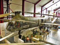 "Vertol H-21C ""Flying Banana"" 8307, Hubschraubermuseum, Buckeburg"
