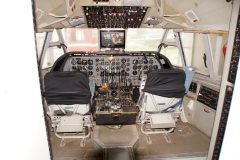 Vickers Vanguard cockpit simulator, Bournemouth Aviation Museum