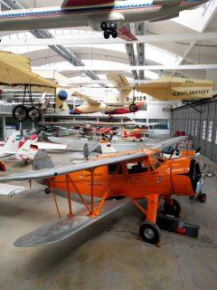 WACO YKS-6 NC16512, Deutsches Museum Flugwerft Schleissheim