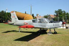Zlin Z43 078 Hungarian Air Force, Pinter Muvek Military Museum