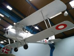 de Havilland DH.82a Tiger Moth S-16 Danish Air Force, Danmarks Tekniske Museum