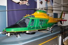 Agusta A109A-IIGdF MM81203 GdiF-126 Guardia di Finanza, Museo Nazionale della Scienza e della Tecnica Leonardo da Vinci, Milan Italy