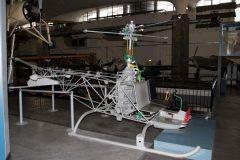Agusta-Bell 47G, Museo Nazionale della Scienza e della Tecnica Leonardo da Vinci, Milan Italy
