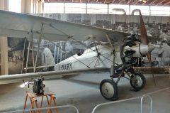 Caproni CA.113 I-MARY Volandia Parco e Museo del Volo Malpensa