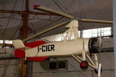 Cierva C.30A I-CIER/MM30030 Italian Air Force,Museo Nazionale della Scienza e della Tecnica Leonardo da Vinci, Milan Italy