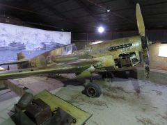 Curtiss P-40L Warhawk 42-10857/X-4 USAAF, Piana delle Orme Museum, Borgo Faiti, Latina, Italy.