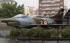 Fiat G91R1B MM6382/2-20 Italian Air Force, Museo Nazionale della Scienza e della Tecnica Leonardo da Vinci, Milano